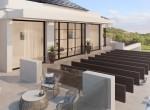Terrace-upstair